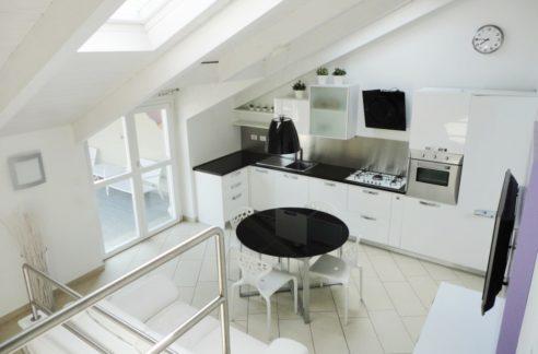 CASALE MONFERRATO (VIA ROMA) vendesi attico mq. 150